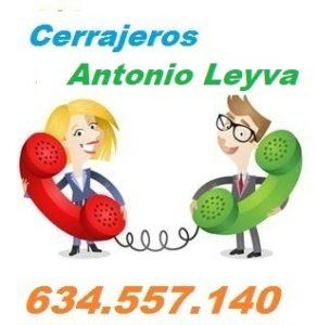 Telefono de la empresa cerrajeros Antonio Leyva